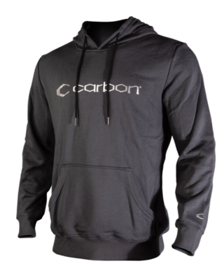 CARBON - SWEAT A CAPUCHE - GRIS/ARGENTE - LARGE