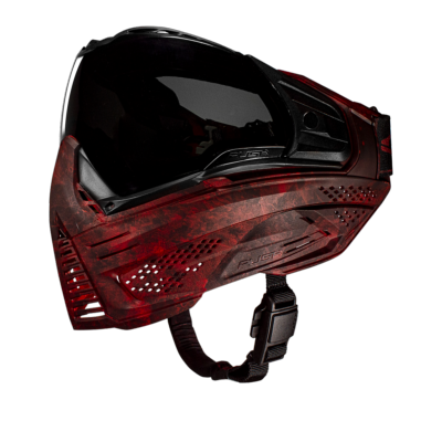 MASQUE PUSH UNITE - CARBON EDITION - BLOOD RED
